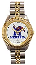 Memphis Tigers- (University of) Ladies Executive Stainless Steel Sports Watch