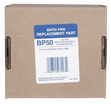 Broan/Nutone Bath Fan & Blower Wheel (BP50)