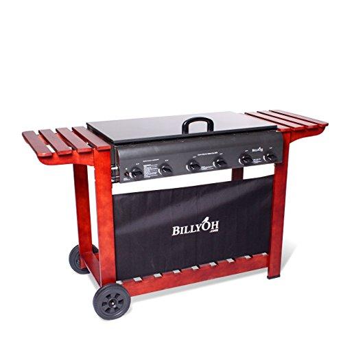 Billyoh Acorn Flatbed Gas Bbq Range (2, 3, 4 Or 6 Burner Barbecue Available) (6 Burner)