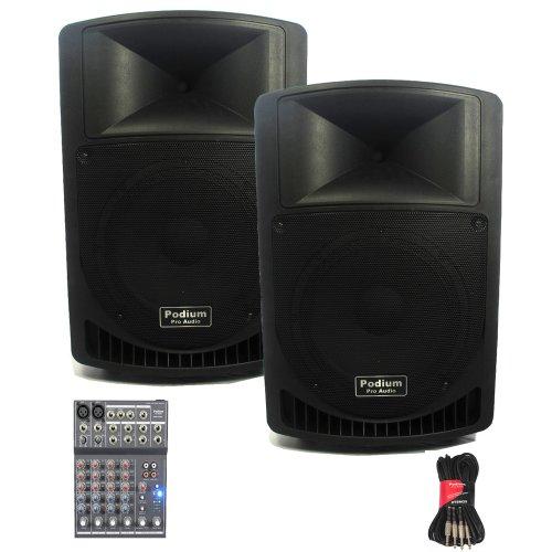 Podium Pro Audio Speakers Podium Pro Audio Pp1206a