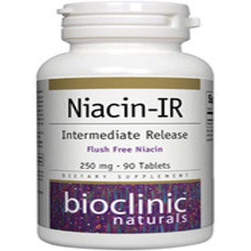 Bioclinic Naturals - Niacin-Ir 250Mg 90Tabs
