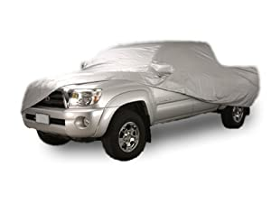 (97.6 in./8 ft. 1.6 in. Bed;Crew Cab;Dually Bed;With Trailer Mirror) GMC Sierra 3500 2007 - 2010 Custom-fit Car Cover Kit