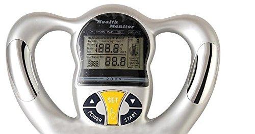 Amaranteen - Silver Health Monitor Bmi Meter Handheld Tester
