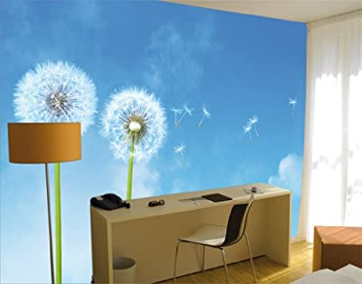 Giant Wall Mural Photo Wallpaper Blowballs 400 X 280 Cm