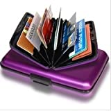 Aluminium Credit Card Holder (Purple)