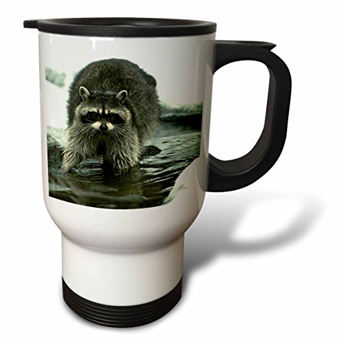 Raccoon Travel Mug<br>14-Ounce