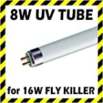 2 x 8W Replacement Tube / Lamp for 16...