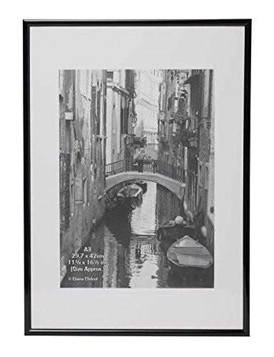 g stig online shoppen a3marbl bilderrahmen mit passepartout a3 29 7 x 42 cm ohne glas schwarz. Black Bedroom Furniture Sets. Home Design Ideas