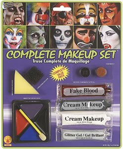 Rubie's Costume Co Complete Makeup Kit (12 Piece) - 1