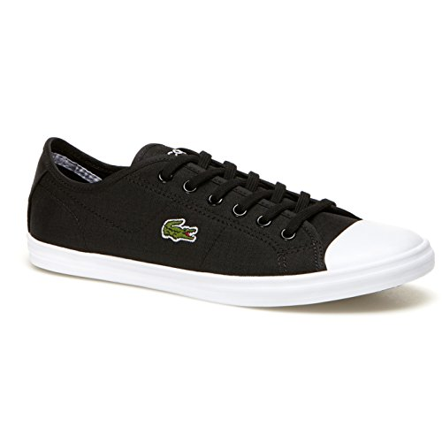 Lacoste Women's Ziane 316 2 Spw Blk Fashion Sneaker, Black, 8.5 M US