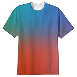 Snoogg Feel Alright Mens Casual All Over Printed T Shirts Tees