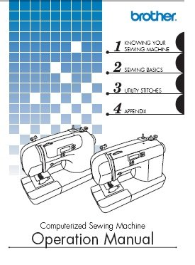 Brother Sewing Machine Model Cs 6000 Instruction Manual