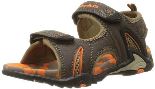 Kangaroos  Sinclair,  Sandali ragazza Marrone Marron (370 Dk Brown Orange) 29
