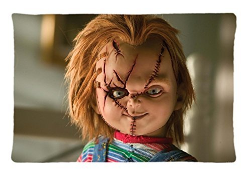 Charles Lee Ray Chucky Doll Custom Pillowcase Rectangle Pillow Cases 20x30 Inches (one side)
