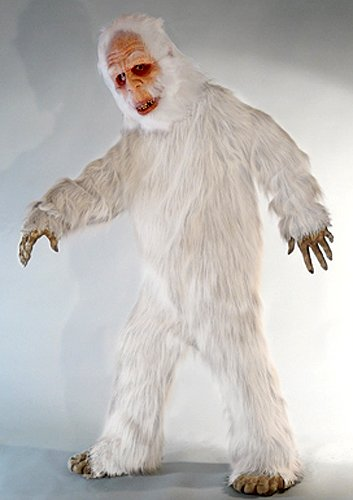 White Yeti Adult Costume
