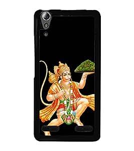 Lord Hanuman 2D Hard Polycarbonate Designer Back Case Cover for Lenovo A6000 :: Lenovo A6000 Plus :: Lenovo A6000+