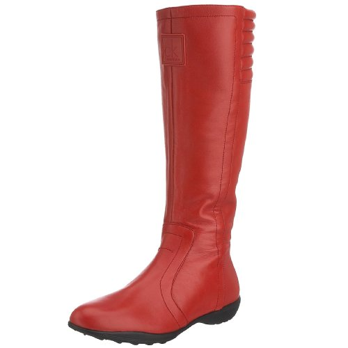 Calvin Klein Women's Lakota N1005 Boot Red N1005RED36 3 UK