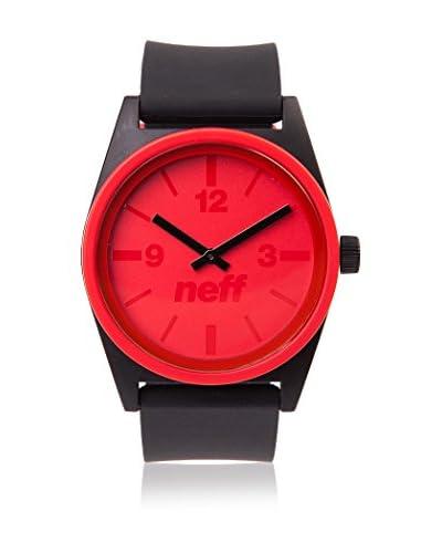 Neff Reloj de cuarzo Duo Negro / Rojo 35  mm