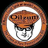 Oilzum Porcelain Sign- 12