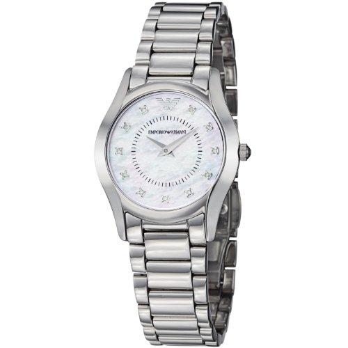 Emporio Armani Women's AR3168 Slim Stainless Steel Bracelet Watch