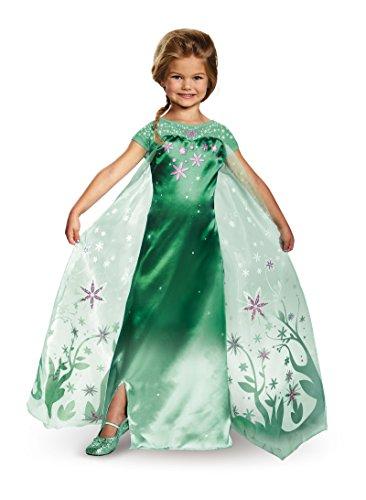 DIS95 (Elsa Frozen Fever Costume)