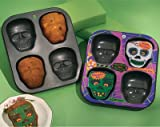 Halloween Party Skull Decoration Cupcake Pan