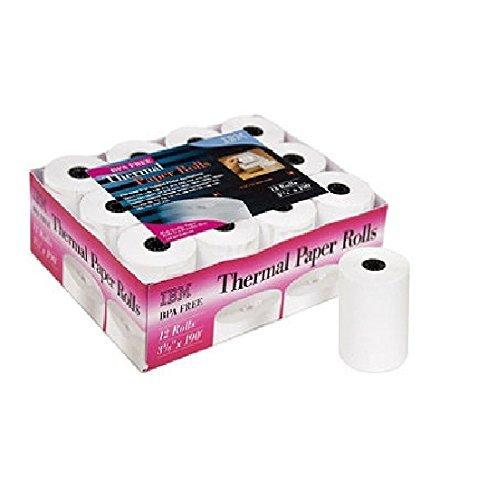 ibm-thermal-paper-rolls-3-1-8-x-190-12-rolls-by-ibm