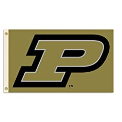 Buy NCAA Purdue Boilermakers 3-by-5 Foot Flag With Grommets by BSI