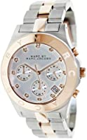 Marc by Marc Jacobs Blade Two Tone Chronograph Women's Watch - MBM3178 by Marc by Marc Jacobs