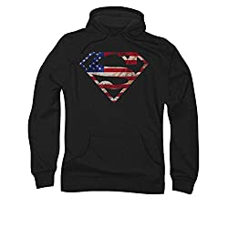 Superman Super Patriot Pull Over Hoodie