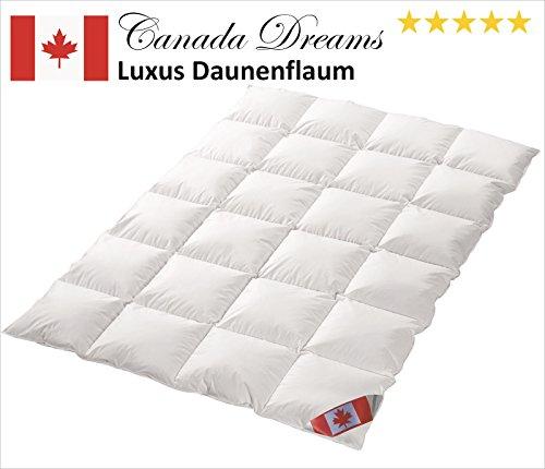 preisvergleich canada dreams luxus extra warmes winterbett daunendecke w rmegrad 5 luxus. Black Bedroom Furniture Sets. Home Design Ideas