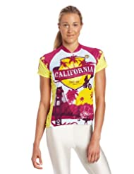 Pearl Izumi Women's Select Limited Short Sleeve Jersey, California State, X-Small