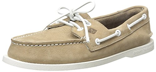 Sperry Top-Sider Uomo A/0 2-Eye Slip-On Boat Shoes, Marrone, 40.5