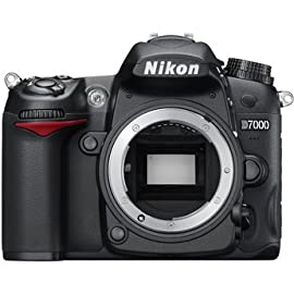Nikon D7000 16.2MP CMOS Digital SLR Camera (Body Only) USA