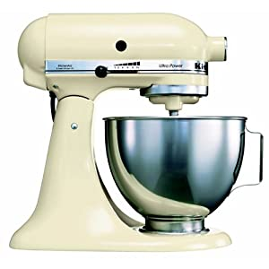 kitchenaid ksm90 eac ultra power food mixer cream