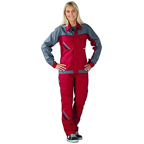 Planam-Damen-Bundhose-Highline-gre-40-rot-schiefer-schwarz-mehrfarbig-2390040