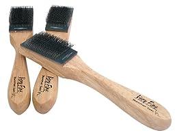 Ladies Women Men Ballroom Dance Shoes for Latin Salsa Tango Shoe Brush (Suede Sole Shoe Brush)