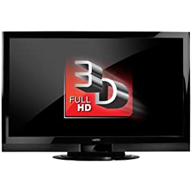 VIZIO XVT3D474SV 47-Inch Full HD 3D Full Array TruLED with Smart Dimming LCD HDTV 480 Hz SPS with VIZIO Internet Apps