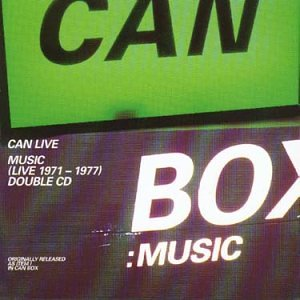 Can Box Music: Live 1971-1977 (Can Box Music compare prices)