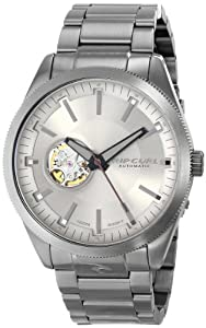 Rip Curl Men's A2673 - GUN CIVILIAN AUTOMATIC GUNMETAL - GUN Analog Display Japanese Automatic Grey Watch