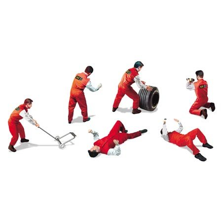 Rally figures (6) - Buy Rally figures (6) - Purchase Rally figures (6) (SCX Slot Cars, Toys & Games,Categories,Play Vehicles,Vehicle Playsets)