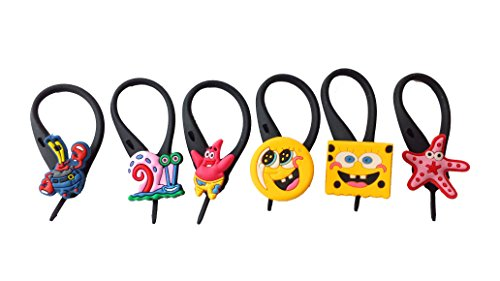 AVIRGO 6 pcs Soft Zipper Pull Charms for Backpack Bag Pendant Jacket Set # 99-3
