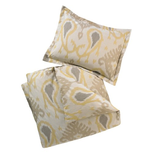 DwellStudio Batavia Citrine Full/Queen Duvet