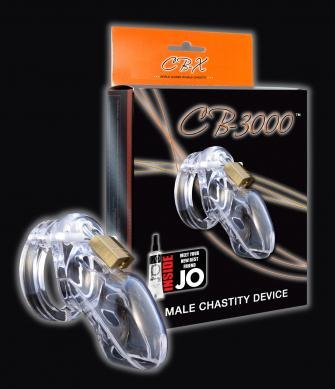 Chastity 3in Clear Cock Cage ( 3 Pack )