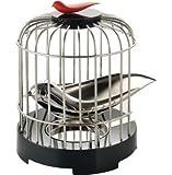 Alessi Tea Matter Bird Cage & Melodic Bird Tea Strainer