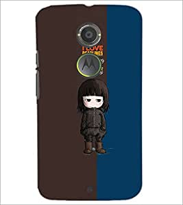 PrintDhaba Quote D-4656 Back Case Cover for MOTOROLA MOTO X2 (Multi-Coloured)