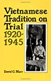 ISBN 9780520050815 product image for Vietnamese Tradition on Trial, 1920-1945 | upcitemdb.com