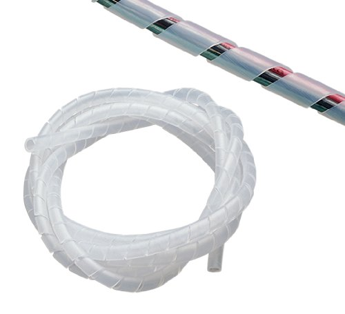 Gardner Bender 73452 1/2-Inch by 6-Foot Clear Spiral Wrap