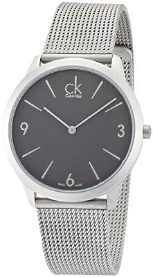 Calvin Klein ck Minimal Mesh Mens Watch K3M51154