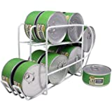 IRIS Wire Can Dispenser for Canned Cat Food Storage, 5-1/2-Ounce, 12 Cans
